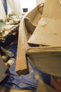 Starboard Rail, unclamped